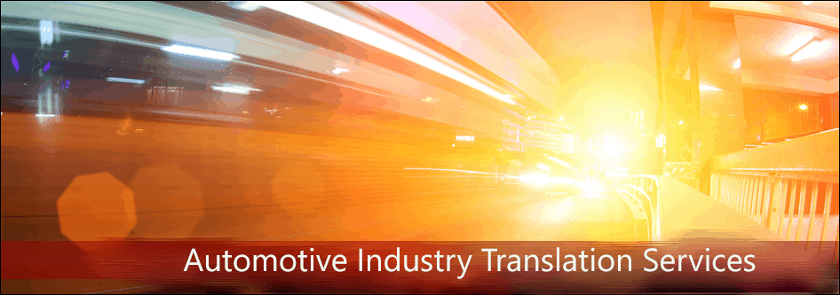 Automotive Industry Translation Services