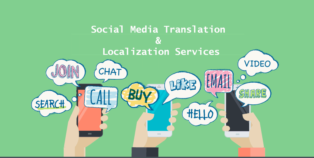 Social Media translation and localization