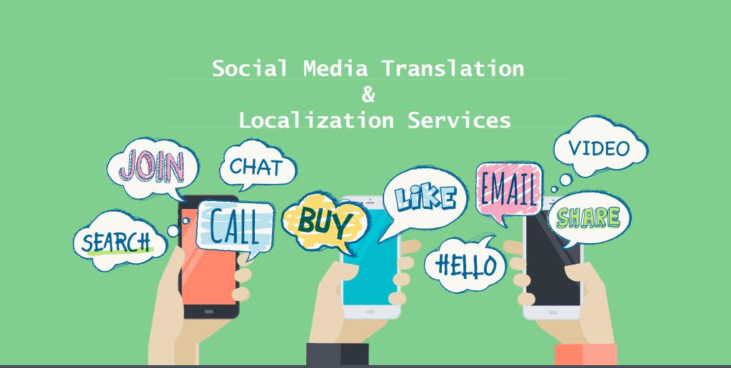 Social Media translation and localization